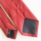 Commerce de gros logo de la mode de cravate en soie polyester Hommes (L011)