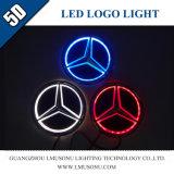 5D свет значка логоса автомобиля СИД для Benz Мерседес