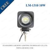 carro 12V/24V que conduce el punto/la luz EMC de la lámpara del trabajo de la pulgada 10W LED de la viga 2.6 de la inundación