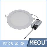 Saso IEC 세륨 RoHS 24W 찬 백색 위원회 LED 가벼운 Paneles LED