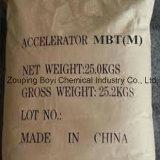 Gummigumminr. 149-30-4 des chemikalien-Rohstoff-chinesisches Lieferanten-2-Mercaptobenzothiazole des beschleuniger-Mbt/M CAS