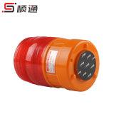 Lte-5088 bernsteinfarbige blinkende LED drehende Röhrenblitz-Minilichter