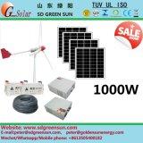 uso híbrido del hogar de las energías eólicas 1kw
