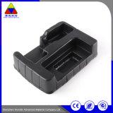 Kundenspezifisches schwarze Wegwerfblasen-elektronisches Produkt-Plastiktellersegment