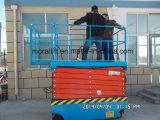 電気人作業プラットホームの上昇の自動推進の実行