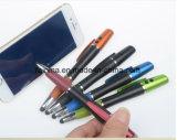 Qualité 4 dans 1 crayon lecteur de bille rouge de pointeur laser avec l'aiguille et l'éclairage LED