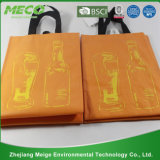 Personalizado personalizado baratos Impresos del vino bolsa (MECO193)