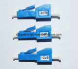 Atenuador fixo da fibra óptica