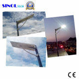 25W LED 50W Solar Panel Integrated Solar Street Light