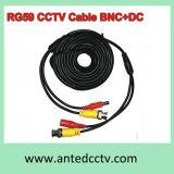 Cavo del CCTV di Rg 59 video con dc 5m, 10m, 15m, 20m, 30m, 40m, 50m di BNC