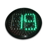 300mm 빨간 녹색 LED 교통 신호 빛 카운트다운 타이머