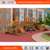 판매 (HD-MZ043)를 위한 재미있은 아이들 슬라이더 위락 공원 나무로 되는 활주