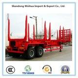 45t 2車軸中国の工場からの木製の輸送の材木のトレーラー