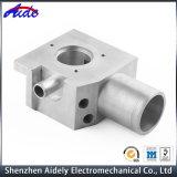 Kundenspezifische Präzision CNC-maschinell bearbeitendes Aluminiumselbstersatzteil