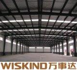 Magazzino della costruzione della struttura d'acciaio dell'ampia luce con i materiali della trave di acciaio