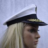 Hat Halloween Yatchの大尉の水兵帽の衣裳の用品類