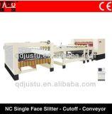 Papelão Ondulado Face Line-Single Producrtion cortador do Transportador de Corte