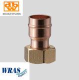 Acoplador recto de reducción de cobre