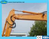 Het zware Hydraulische Graafwerktuig van het Wiel van de Machines van de Bouw met de Capaciteit van de Emmer 0.5-0.6m3