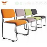 Venta caliente reunión silla plegable moderna formación tarea silla con apoyabrazos de la Escuela/ Oficina
