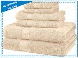 De Katoenen van de Premie van 100% 6PCS Reeks van de Handdoek