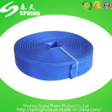 Manguito plástico agrícola de la irrigación del agua del PVC Layflat
