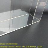 La coutume en acrylique transparent Cas d'affichage de montage mural