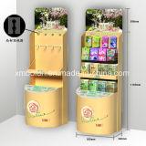 Imbiss-Bildschirmanzeige des Pappkindes für Supermarkt