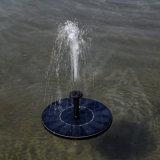 태양 에너지 연못 샘 뜨 수도 펌프 태양 전지판 원예식물 수력 샘 조경 훈장