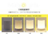 Luz sin hilos de la noche del altavoz del LED Bluetooth