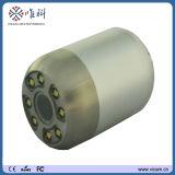 Fatto nella videocamera della Cina di controllo sotterraneo del tubo per fognatura con la rotella V8-3388 del cavo dell'asta di spinta