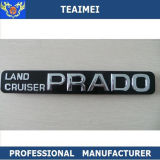 Значок Nameplate автомобиля черный и серый Prado письма эмблемы