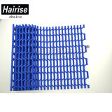 Nastro trasportatore di plastica blu della maglia di Hairise con i fori