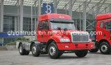 La carrozza lunga di FAW/lungamente arrotonda la punta di/lungamente camion del trattore di 350HP 6X2/testa capa del trattore/lungamente testa capa rimorchio/del trattore/camion pesante della testa del trattore