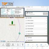 Motorrad-Warnung mit internem Schlag-Fühler, Spur durch SMS/GPRS (GT08-ER)