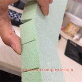 scanalatura di spessore di 15mm e memoria perforata della gomma piuma del PVC