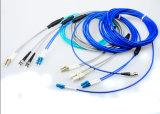Câble optique de cordons de connexion de Qualitry de FC de Sc LC de fibre uni-mode bon marché élevée de la rue MU