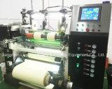 Aufschlitzender u. Rückspulenmaschine Hochgeschwindigkeits-PLC-Steuerli-Batterie-Trennzeichen-Film