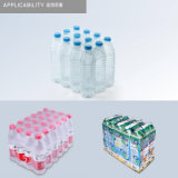 Macchina di plastica automatica di involucro restringibile di calore della bottiglia di acqua della bottiglia