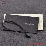 Papel para impressão personalizada de papelão especial vestido Hang Tag