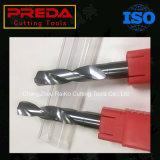 Preda 2 Bit van de Boren van de Draai van het Carbide van de Hoge snelheid van Fluiten de Stevige
