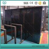 Nero Marquina Marmor, schwarze Marmorfliesen für Bodenbelag, Wand