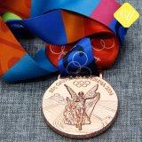 Métal 3D ATTRIBUTION Die Casting vierge Médaille de football personnalisés