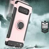 Caixa dupla do telefone de Kickstand da camada para a nota 8 da galáxia de Samsung