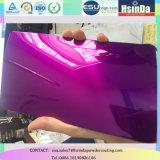 Capa decorativa del polvo del caramelo de la pintura púrpura transparente del polvo