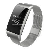 Bluetooth wasserdichter Blut-Sauerstoff-Druck-Puls-Monitor-Armband-Sportintelligenter Wristband