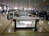 máquina para hacer punto automatizada sistema plano multi universal electrónico de Doube del calibrador para el suéter