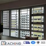 Doppelter Glasempfang-Innenflügelfenster-Fenster und Tür doppeltes schiebendes Windows