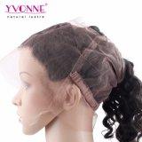 I capelli frontali 22.5*4 del Virgin di Yvonne 100% del merletto brasiliano umano dei capelli 360 slacciano l'onda