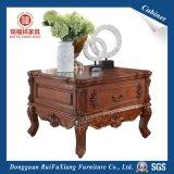 Деревянный стол со стороны для отеля (Q318)
